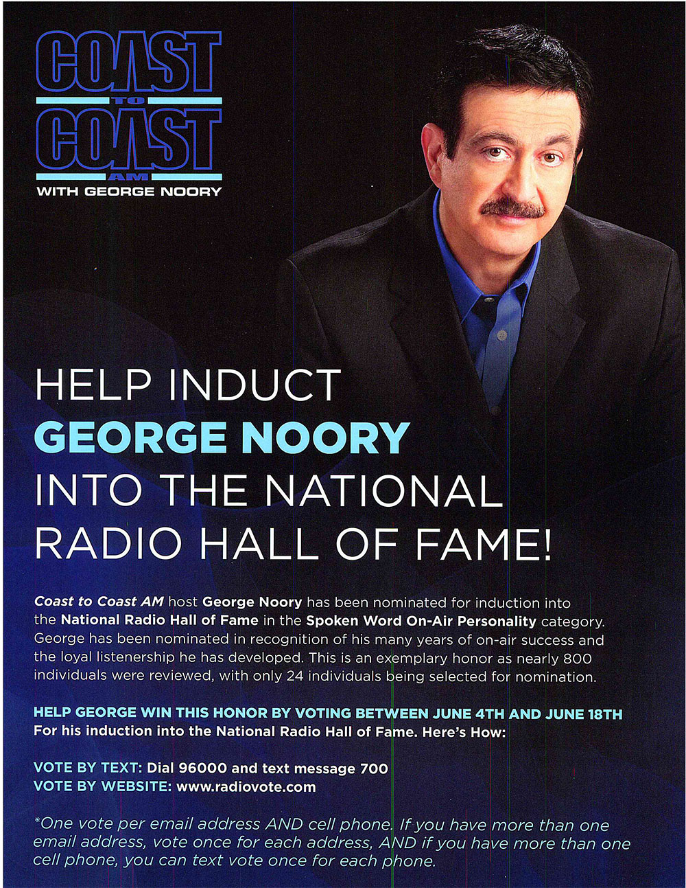 George Noory Hall of Fame