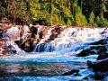 McDonald Creek - Glacier National Park - Just sitting and listening to the flow of the Water is Therapeutic and brings serenity to the Weary