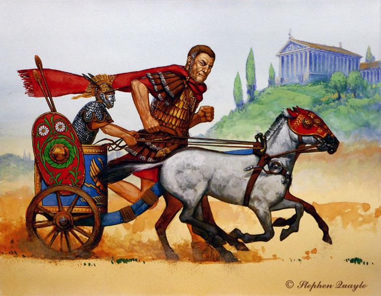 """MOST PEOPLE ARE UNAWARE, OF THE  GIANT ROMAN EMPEROR NAMED """"MAXIMINIUS"""" WHO COULD OUTRUN CHARIOTS! HE ATE 40 LBS OF MEAT AND DRANK 18 BOTTLES OF WINE AT EACH MEAL!"""