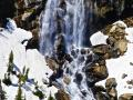 """""""EARLY WINTER WATERFALLS"""" ARE SOME OF MY FAVORITE NATURAL WONDERS TO PHOTOGRAPH FROM THE AIR - GREAT PILOTS WHO CAN GET YOU BREATHTAKINGLY CLOSE ARE THE KEY!"""