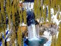 """COLONNADE FALLS"" IN YELLOWSTONE PARK,""BREATHTAKINGLY COLD AND BEAUTIFUL"" AT THE SAME TIME"