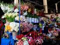 DOWNTOWN CUSCO'S MARKET CENTER -- THE COLORS WERE STAGGERING AND INTENSE